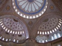 Tile Works in Blue Mosque
