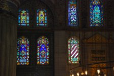 Stained Glasses of Blue Mosque